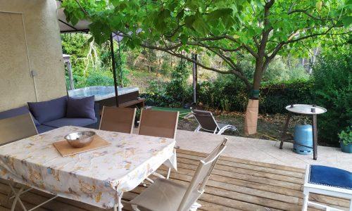 Veranda spa maison d'hôte de la pinède de Manon Barjols